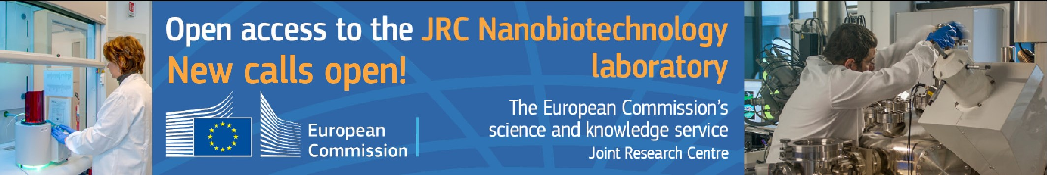 Open Access to EC Joint Research Centre research infrastructures: the Nanobiotechnology Laboratory